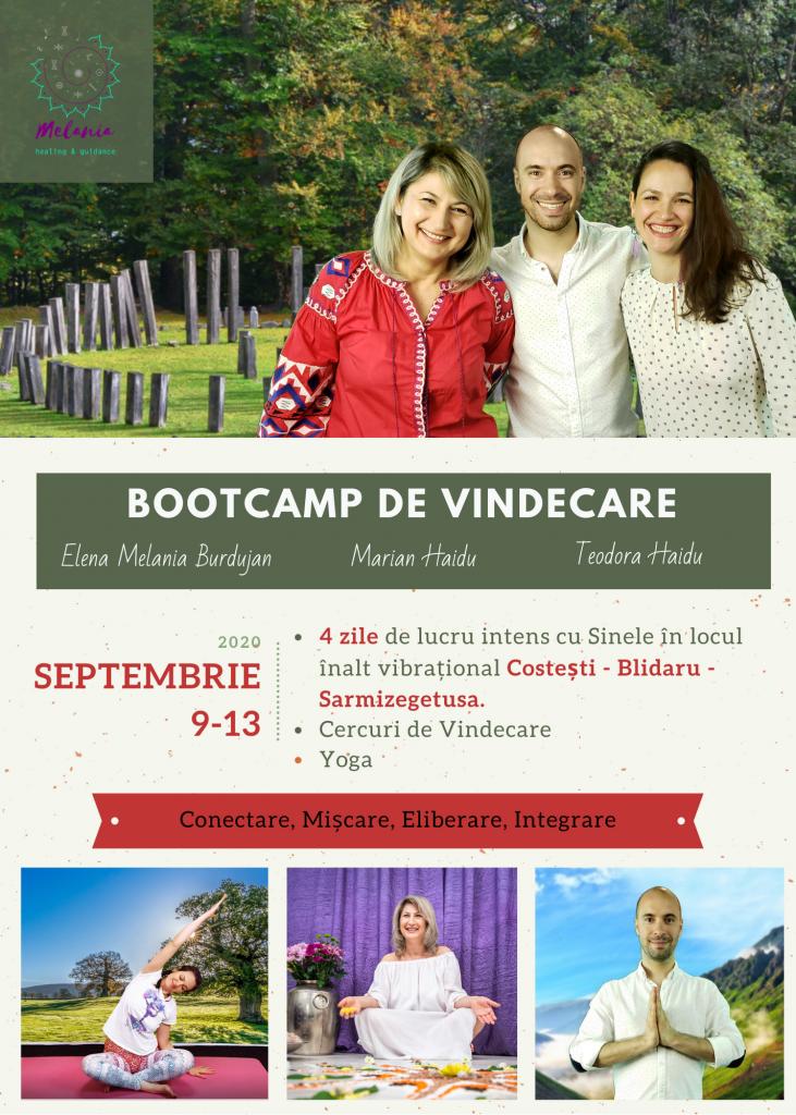 Bootcamp de Vindecare Costesti Blidaru Sarmisegetuza
