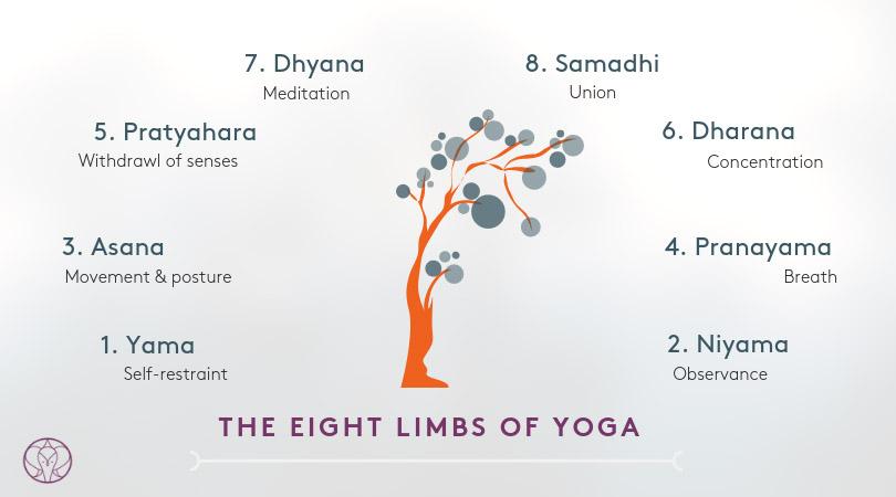 Istoria Yoga  - 8 elemente Patanjali