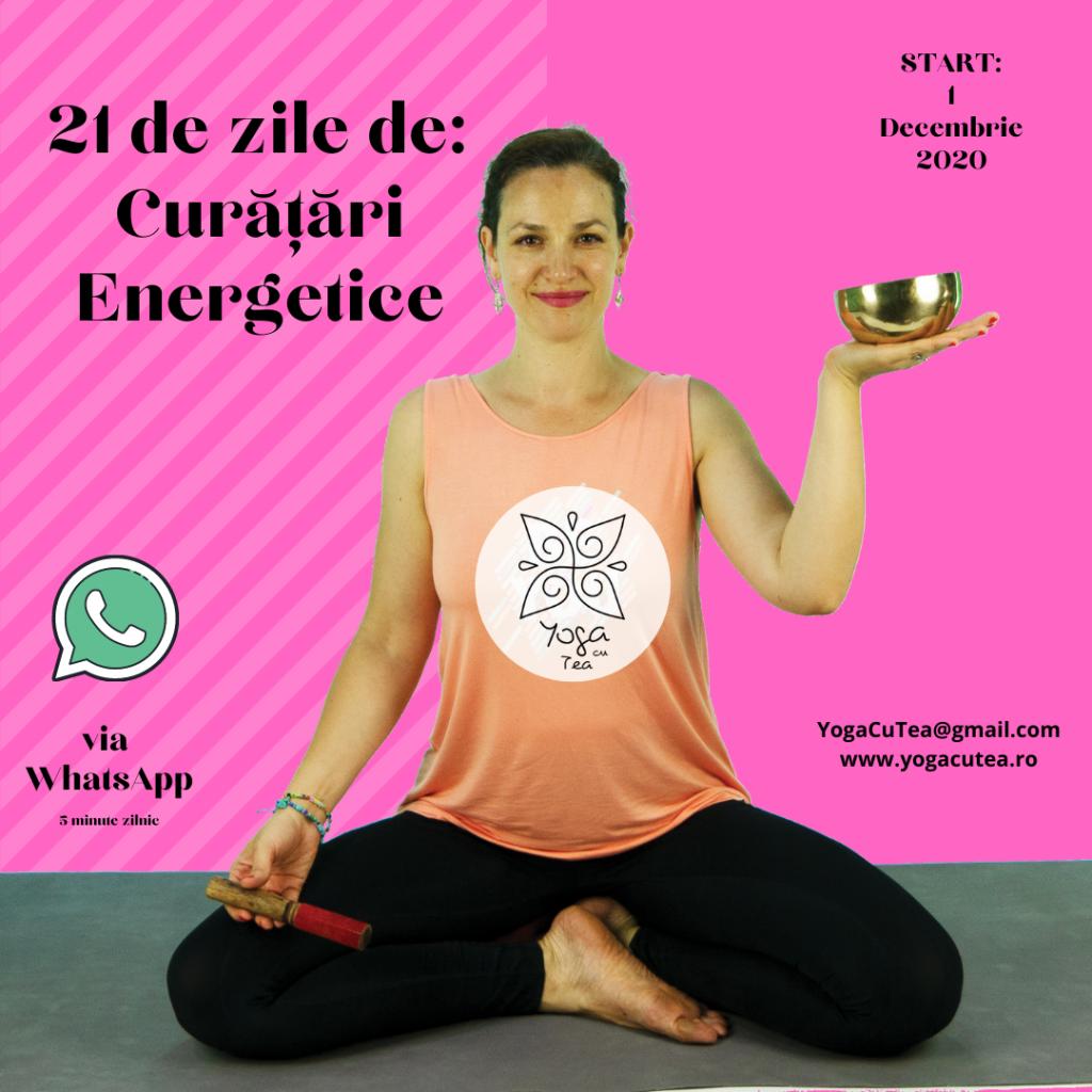Curatari energetice - 21 de zile cu Tea
